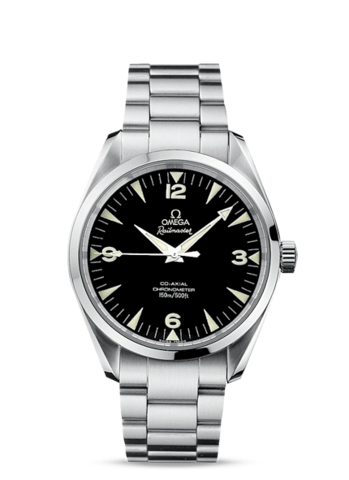New Omega Railmaster Co-Axial Chronometer