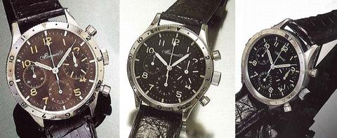 Breguet Type XX 3-register models
