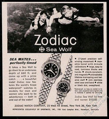 ladies zodiac sea wolf
