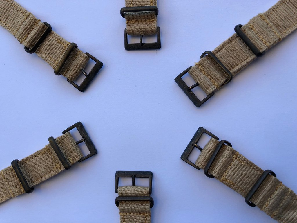 You Can Now Buy the Classic A.F.0210. Military Watch Strap