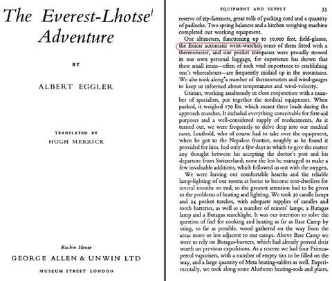 Albert Eggler's The Everest-Lhotse Adventure