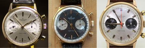 Breitling Top Time ref 2000-4 dials