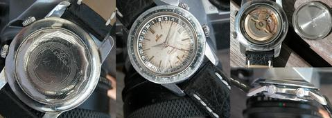 1962 Enicar Sherpa Guide with cream dial