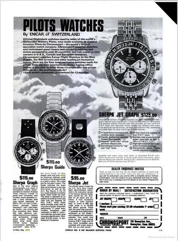 Pilot watches ad