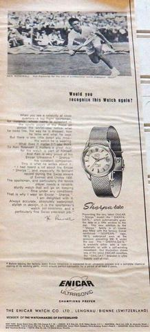 Enicar Sherpa Date ad