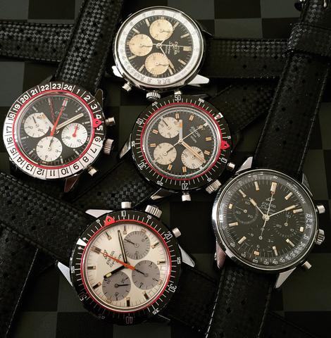 Enicar Graph and AquaGraph watches