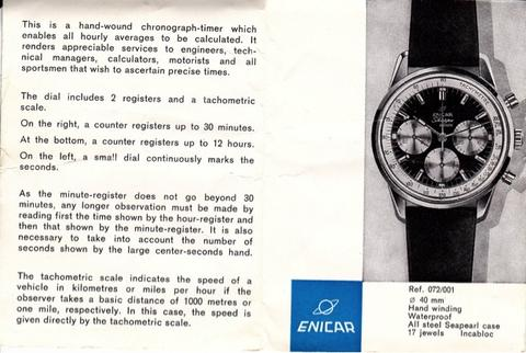 Enicar Graph Ad scan