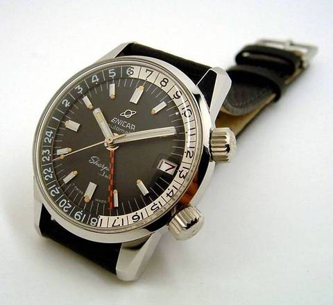 Enicar Sherpa Jet GMT Mark II