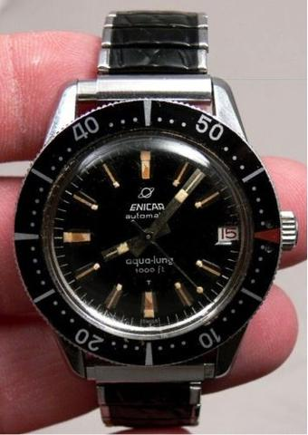 Enicar aqua-lung 1000ft