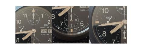 subdials of the 3705