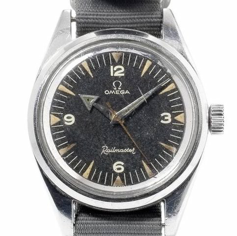 Omega CK 2914-1 with broad arrow hands