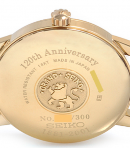 120th anniversary limited edition case back