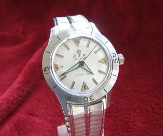 Early zodiac SW White dial