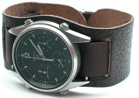 NATO Leather: NATO watch strap