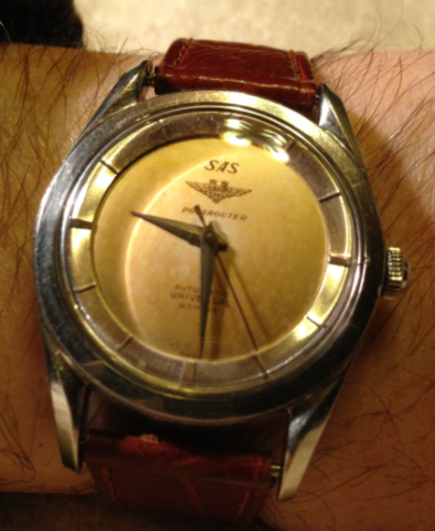 Polarouter first model universal geneve 1954