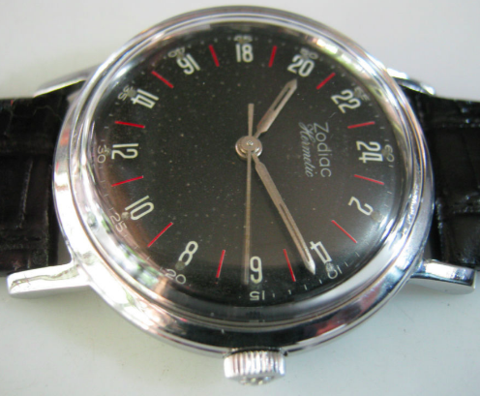 hermetic about 1962: Zodiac Aerospace GMT