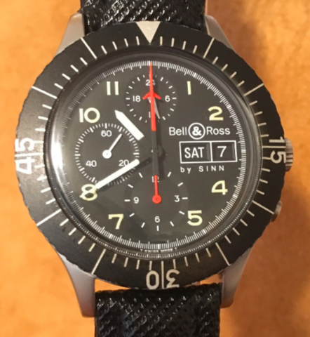 Bell and ross by Sinn: Seiko Silverwave Cockpit