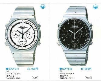 Seiko 7A28-701A catalogue