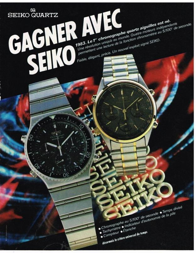 Seiko 7A28-7020 French ad
