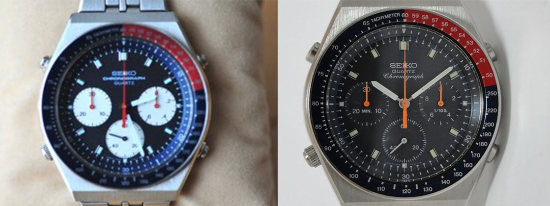 Seiko 7A28 models 7100 and 703A