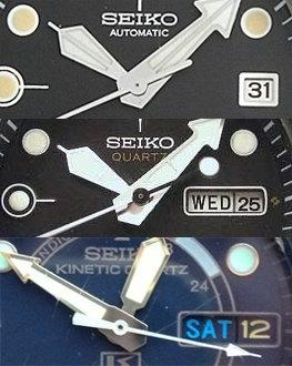 Seiko Tuna date window variations
