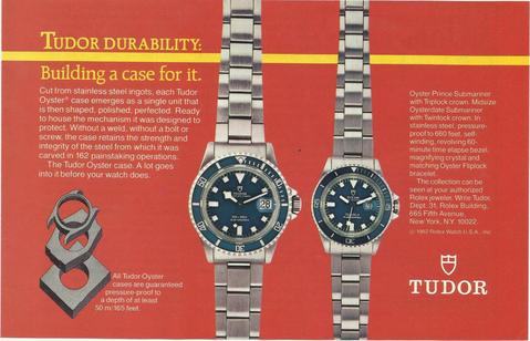Tudor Submariner Catalog