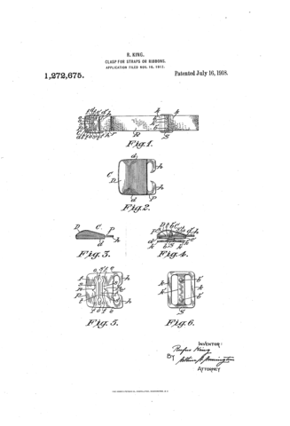 Bugbee and niles patent