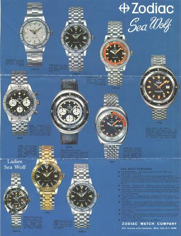 zodiac sea wolf advertising