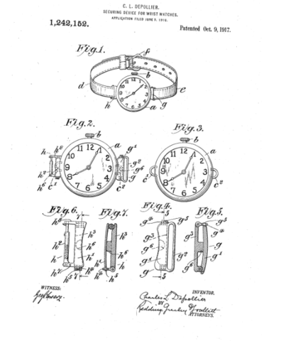 depollier and Duncuff patent