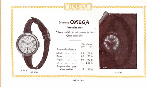 Omega 1917 advert: NATO Watch Strap History