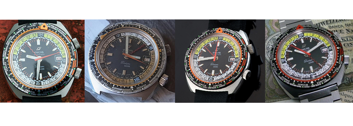 Enicar Sherpa Mark IV Guide watches