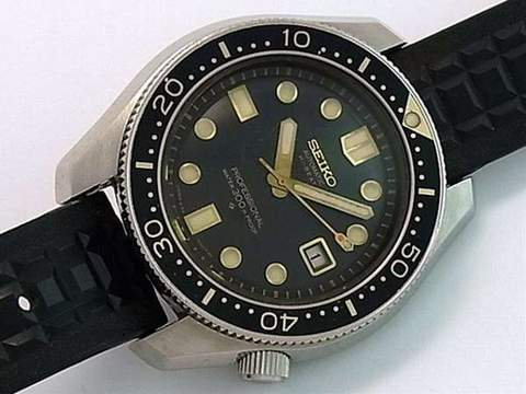 count down bezel Seiko 6159
