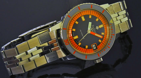 NOS Orange zodiac sea wolf
