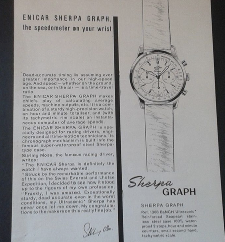 Stirling Moss Graph endorsement