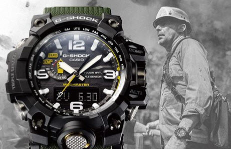 7 Best G-Shock Watches for the Military 2020 (Review)